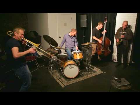 Frode Gjerstad Trio with Steve Swell (2nd set) - at The Stone - November 29 2015