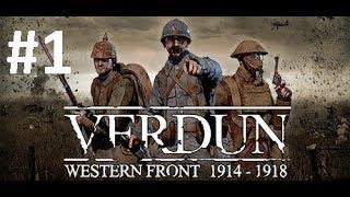 Verdun Gameplay (No Commentary) #1