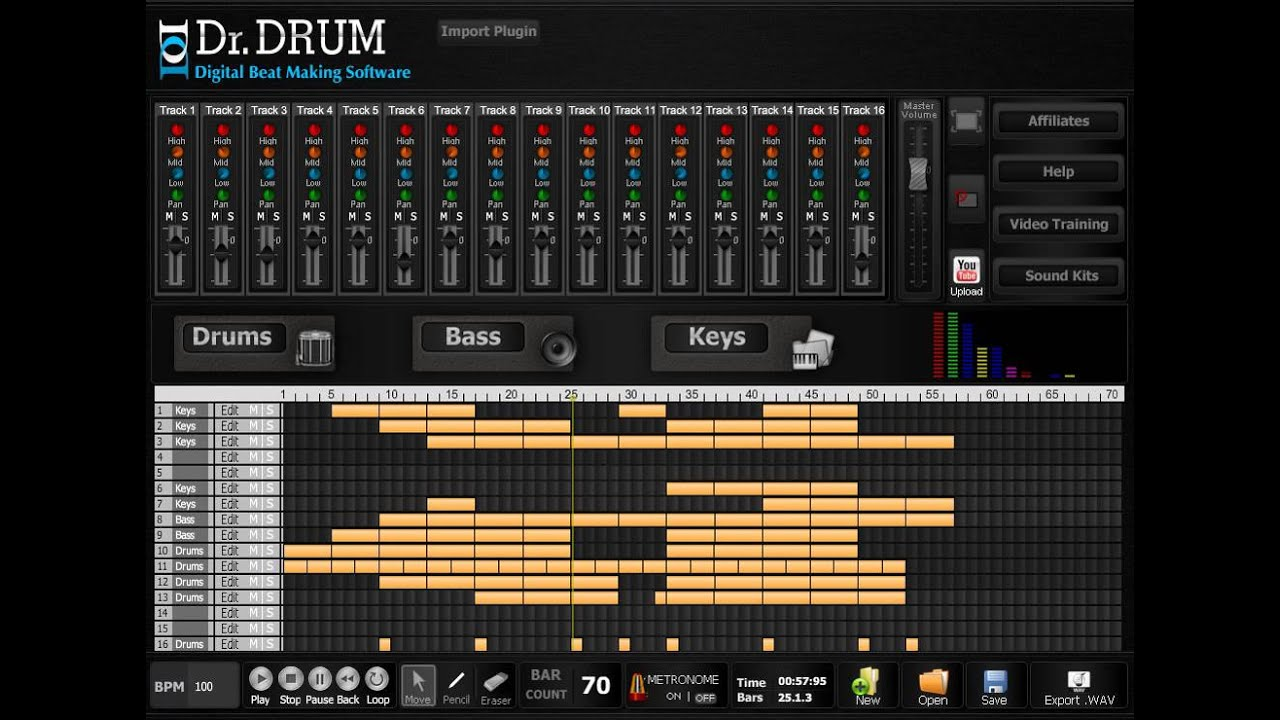 best drum machine software youtube