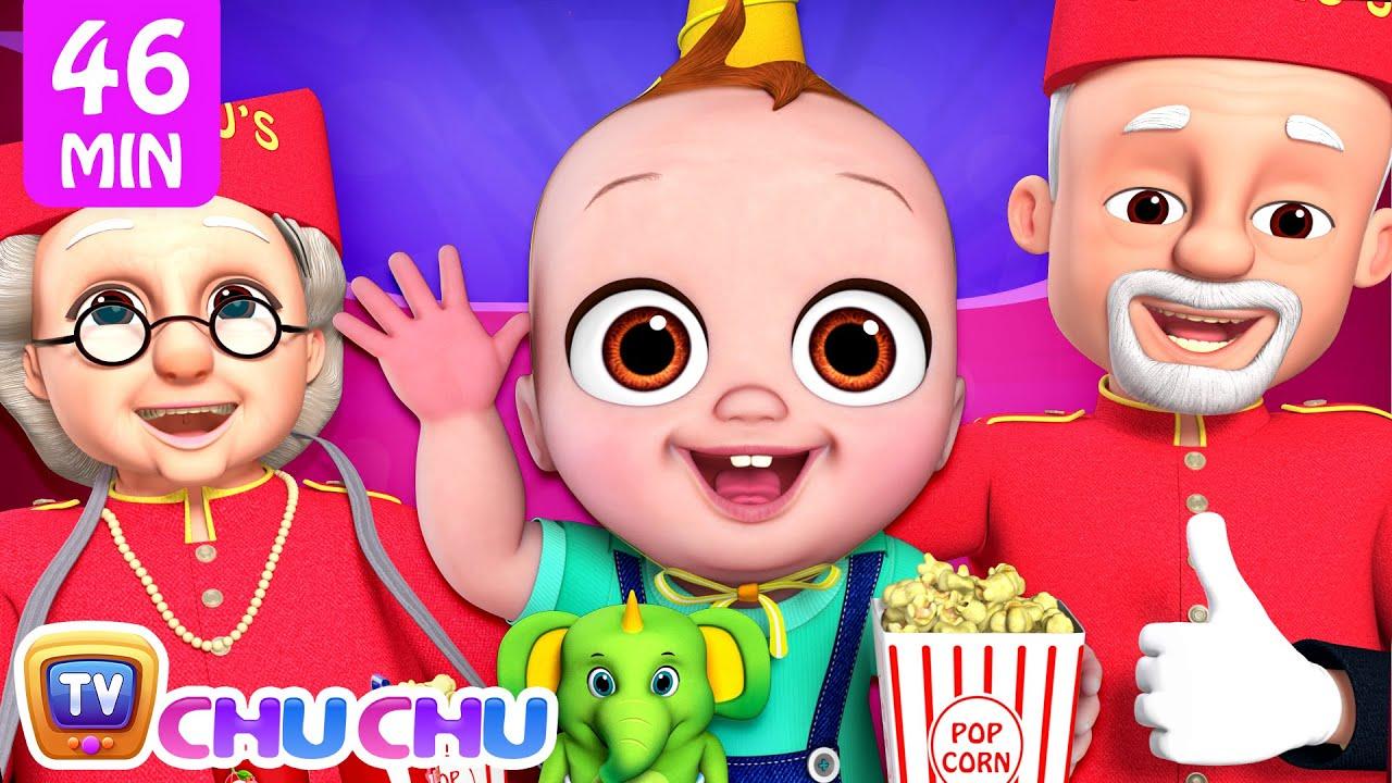 Movie at Home Song + More ChuChu TV Baby Nursery Rhymes & Kids Songs