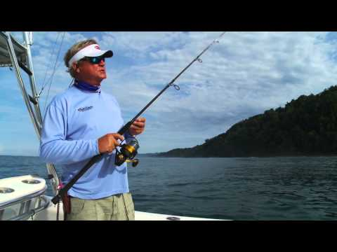 SLOW TROLLING FOR ROOSTER FISH WITH SPINNING TACKLE