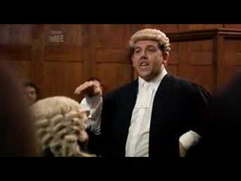 Man Stroke Woman - Jury Argument: Nick frost delivering a speech to the Jury