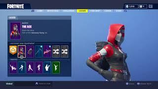 Fortnite The Ace Skin Pack