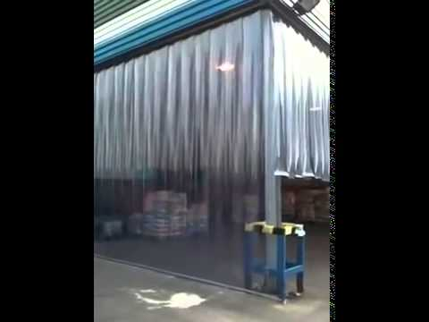 Russell PVC Strip Curtains for WareHouses