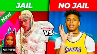 Rappers who been Locked Up vs  Rappers with a Clean Sheet 2020 2