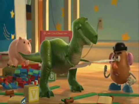 Toy Story's Rex Performs Wallace Shawn's The Fever