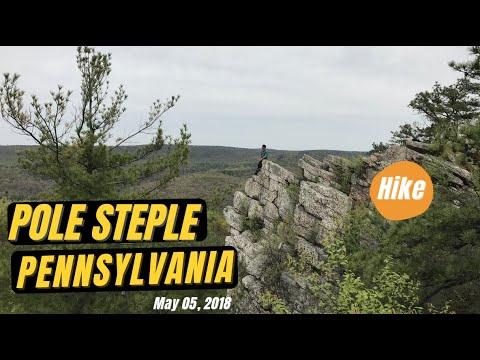 Yoga and Hike to Pole Steeple -  Pennsylvania USA