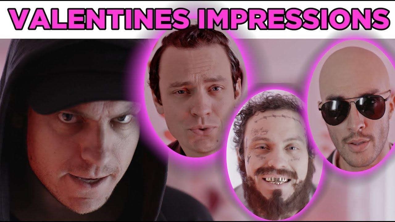 G-Eazy, Post Malone, Pitbull & Eminem Sing Valentine's Songs (PARODY)