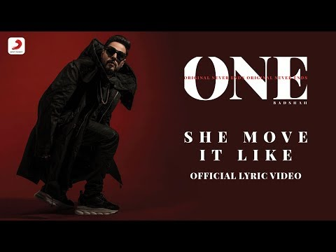 Badshah - She Move It Like | ONE Album | Lyrics Video