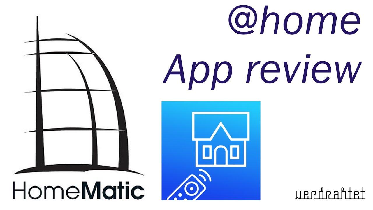 "homematic - review zur ""at home"" app für das iphone - youtube"