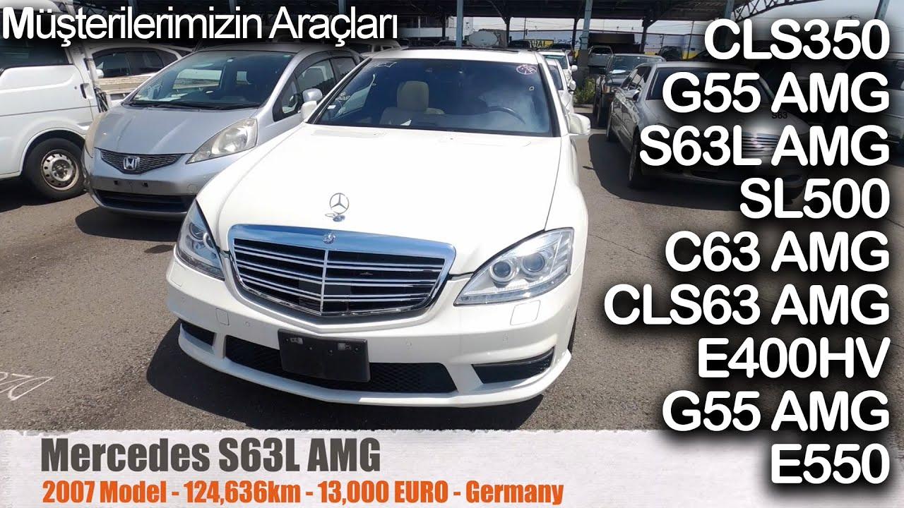 Japonya'dan Avrupa'ya; G55, S63L, C63, CLS63, E400 H, E550, SL500, CLS350 | Japonic Trade