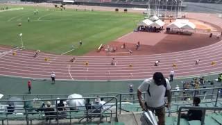 2016 7月29日 全国高校総体 岡山 インターハイ陸上 女子400m 予選3組