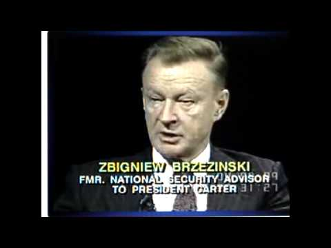 Brzezinski on Trilateral Commission in 1989