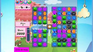 Candy Crush Saga Level 1921 16 moves NO BOOSTERS Cookie