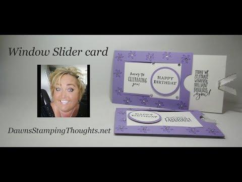 Window Slider card