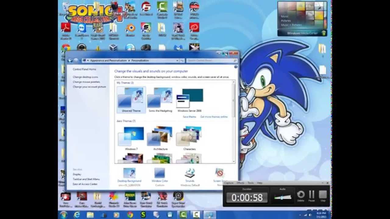 how to make windows 7 look like windows server 2008