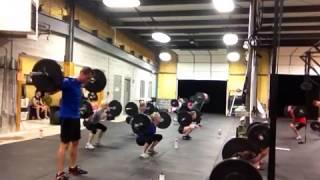 Bring Sally Up squat challenge CrossFit Edwardsville