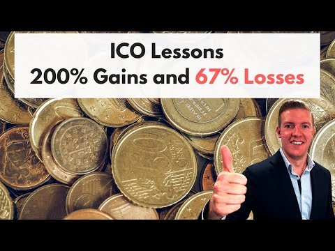 My ICO Lessons: 200-500% GAINS and Stupid 66% Losses + My Actual Monetha and Credo Investments