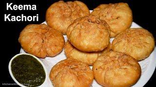 Keema Kachori Recipe - Khasta Keema Chicken Kachori - Special Ramadan Recipe