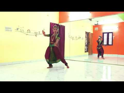 shree ganeshaya dheemahi song whistled  & danced by Swetha