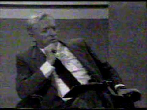 William F Buckley Jr Firing Line Oil interview