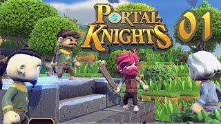 Portal Knights #01 • Abenteuer der Klötzchenritter • Portal Knights German - Deutsch