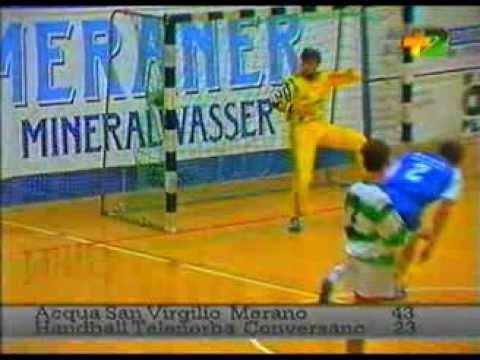 Campionato Pallamano A1 maschile 1994.1995 Merano-Telenorba Conversano 43-23
