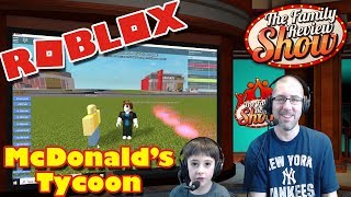 Roblox McDonald's Tycoon   Accidentally Trying To Rob Other People
