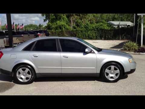 2003 Audi A4 1.8 Turbo - View Our Current Inventory At FortMyersWA.com
