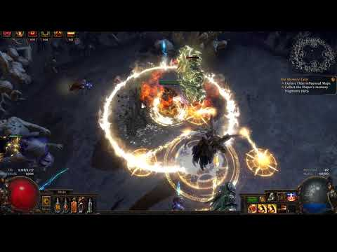 3.1 Righteous Fire (RF) Hardcore Abyss League -- Elder Fight