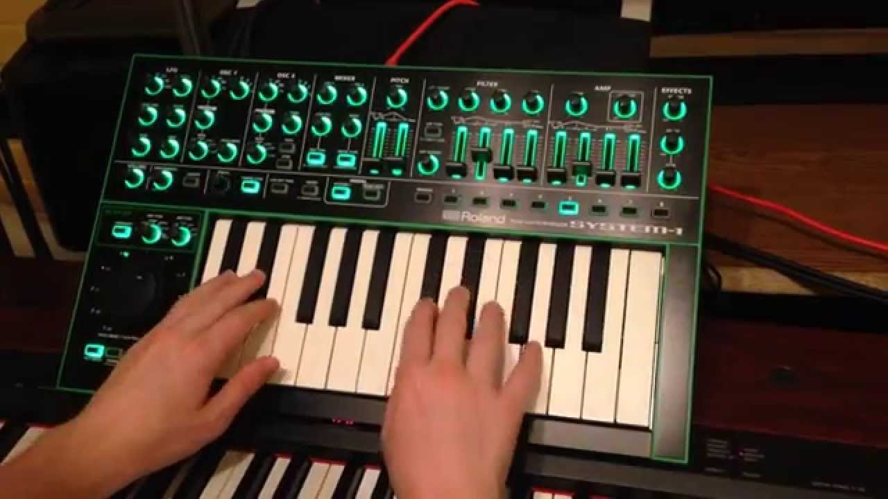 roland aira system 1 synth jam demo and review youtube