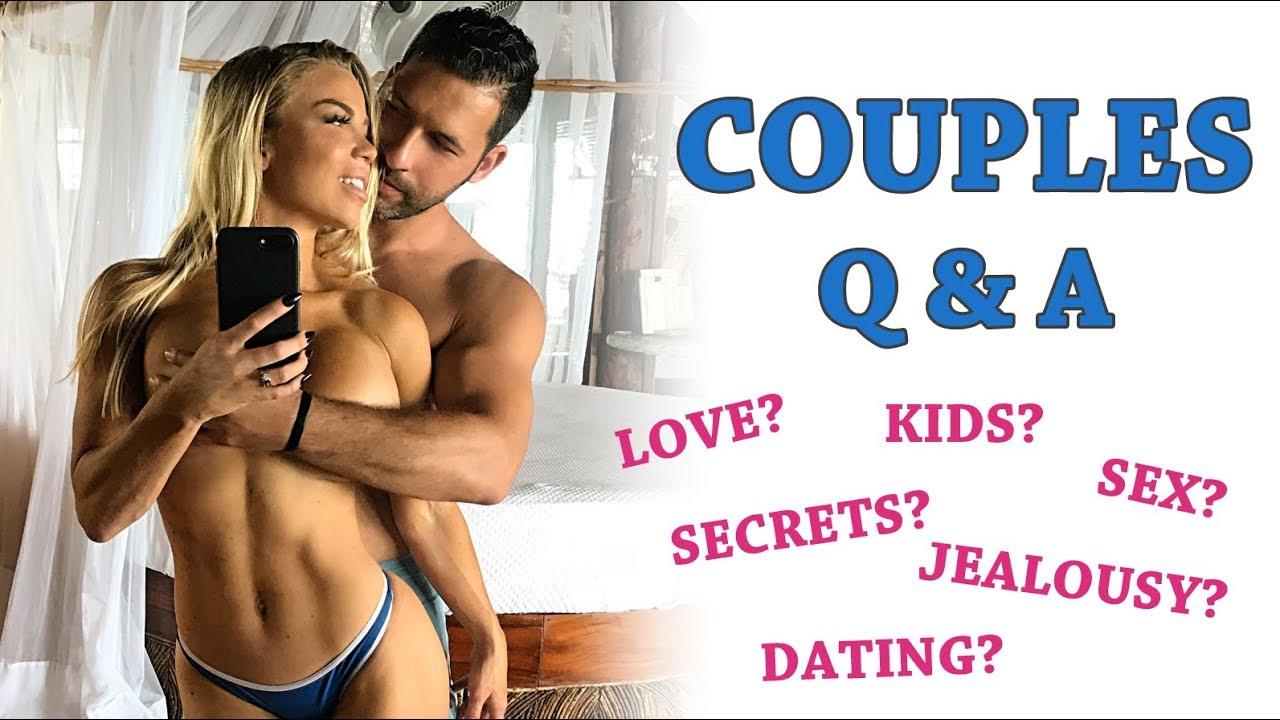 Funny & Crazy Relationship Questions | Lauren Drain