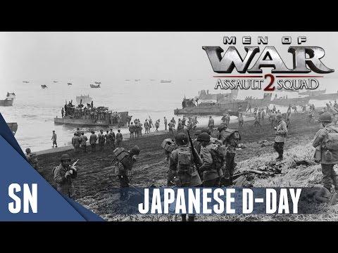 BETIO LANDING - Men of War: Assault Squad 2 MOD - Pacific Operations #1