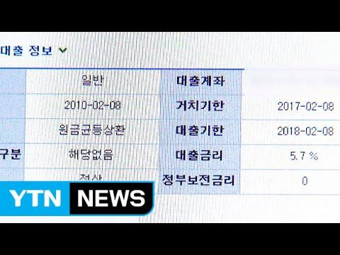 """대학생 빚내는 사회....""""4명 중 1명 빚쟁이"""" / YTN"""