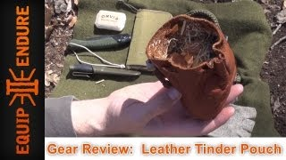 Leather Tinder Pouch, Review by Equip 2 Endure