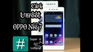 Cara Unroot Full Oppo Neo 7 Dengan mudah Gampang bngtt!!!