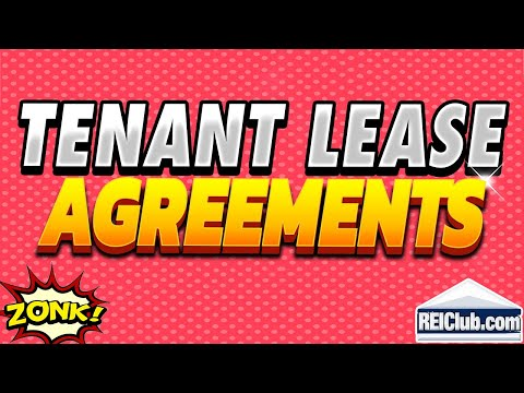 Tenant Lease Agreement - Filling Out Tenant Lease Agreements