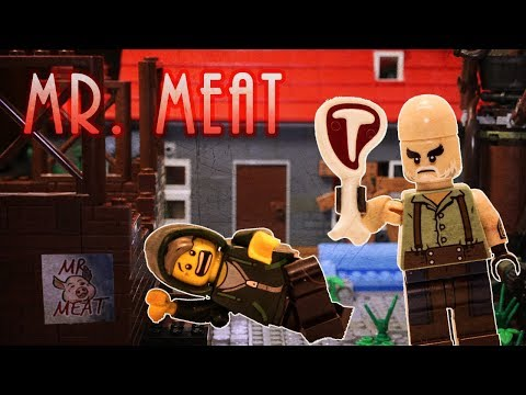 LEGO Mr. Meat Horror Game Stop Motion