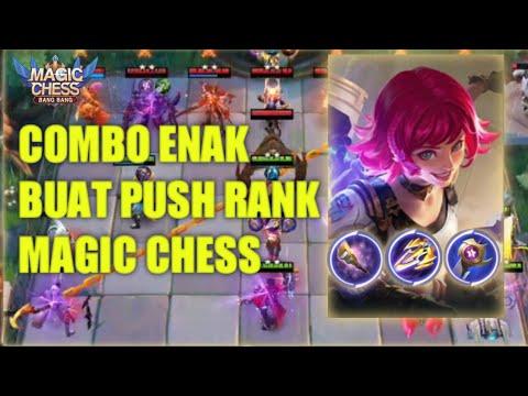 Combo Enak Buat Push Rank Magic Chess !!! Combo Gunner Mech Era Terkuat Magic Chess Mobile Legends