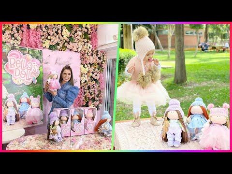 Marlene Favela saca una muñeca inspirada en su hija Bella, cuenta cómo nace la idea