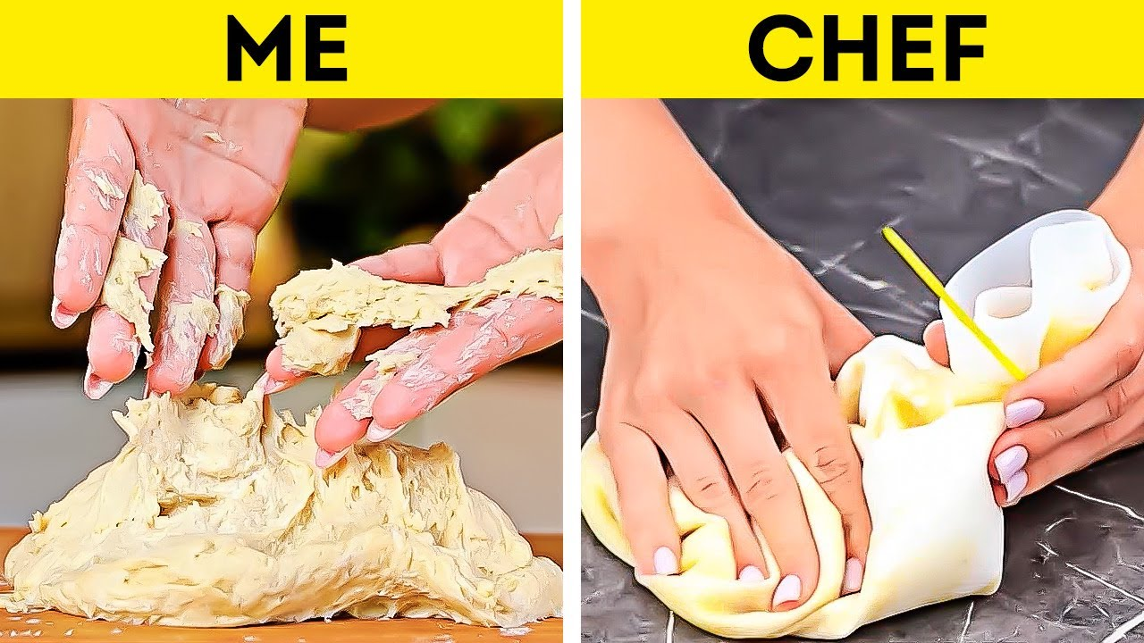 Me VS Chef || Simple Tips to Upgrade Your Cooking Skills!
