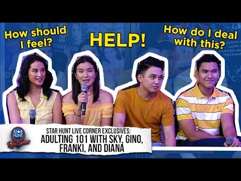 How to 'Adult' with Franki Diana Gino and Sky  Star Hunt Exclusives