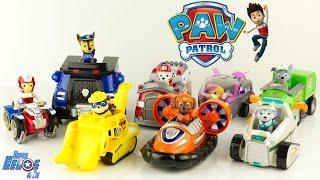 Tous les personnages de la Pat Patrouille Véhicules Paw Patrol Collection Jouet Patrulla Canina Toys