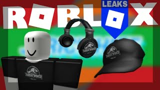 [LEAKS] JURASSIC WORD ITEM IN ROBLOX EVENT
