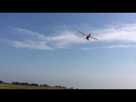 "Comet Aeronca Chief 54""  rubber free flight - trim3"
