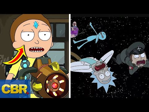 What Nobody Realized About Death Crystals In Rick And Morty Season 4 Episode 1