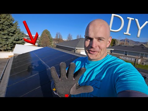 Do It Yourself Solar Power? - Easy DIY Solar Panel Installation!