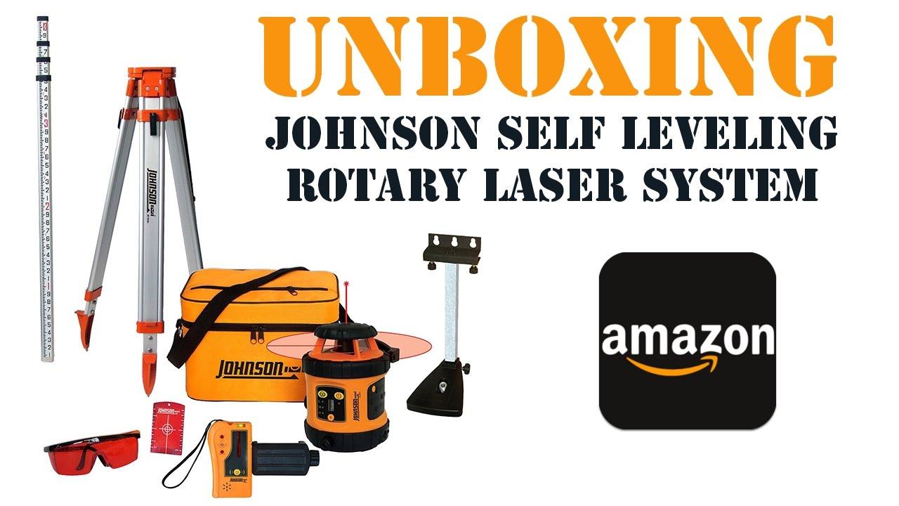 johnson manual rotary laser level kit