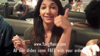 Brisket taste good with FREE side dishes