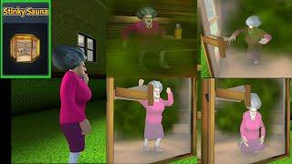 Download lagu Episode 13 - Stinky Sauna   Gandh Macha di Scary Teacher 3D Funny Horror Gameplay